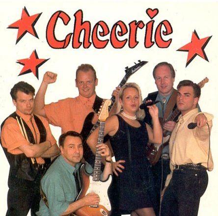"""Dansbandet Cherries cd """"Det handlar om kärlek"""" från 1997"""