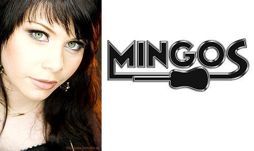 Mingos sångerska Ida Sundelius. Foto: Jini Sofia