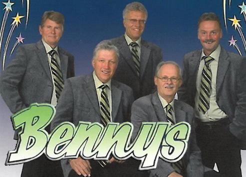 Dagens sättning av Bennys Orkester