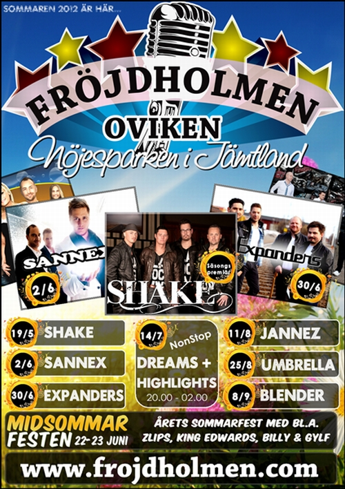 Dans på Fröjdholmen 2012
