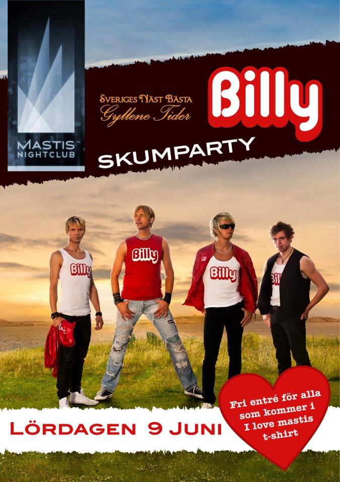 Billy på Mastis
