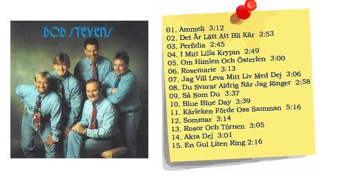 Bob Stevens första full-cd