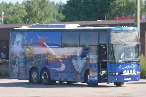 Fernandoz turnébuss i Kristinehamn