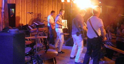 Mats Bergmans på scenen