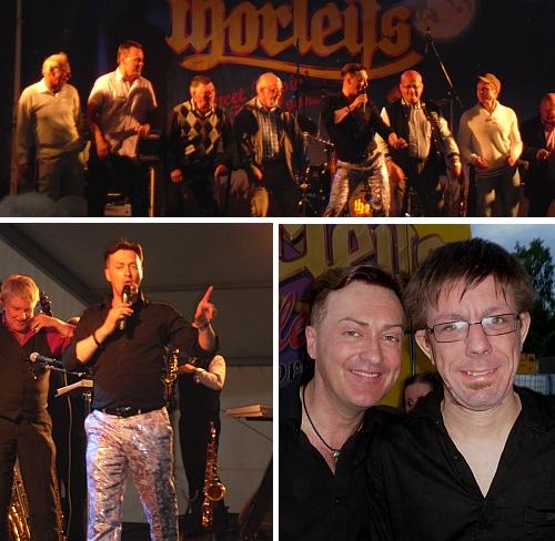 Bilder från Tony Irvings show