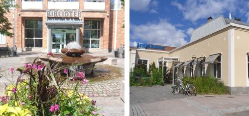 Biblioteket och Arvika Nyheter