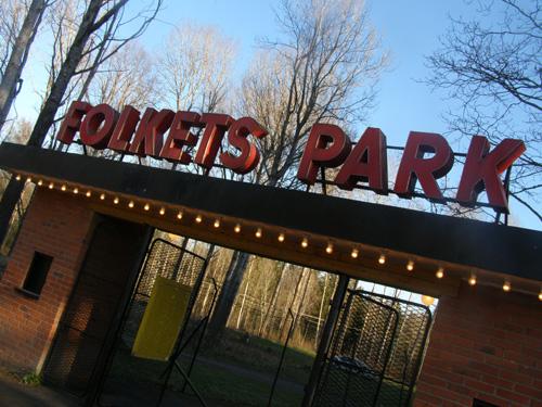 Alla hålor med självaktning har en folkpark