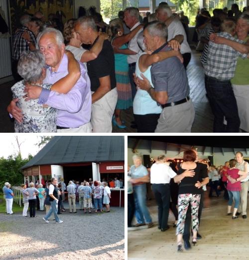Danspublik i Degerfors Folkets Park