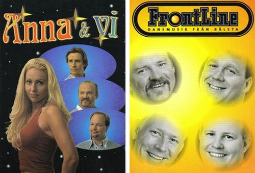 Anna & Vi samt första upplagan av Frontline