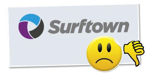 Inte mera Surftown