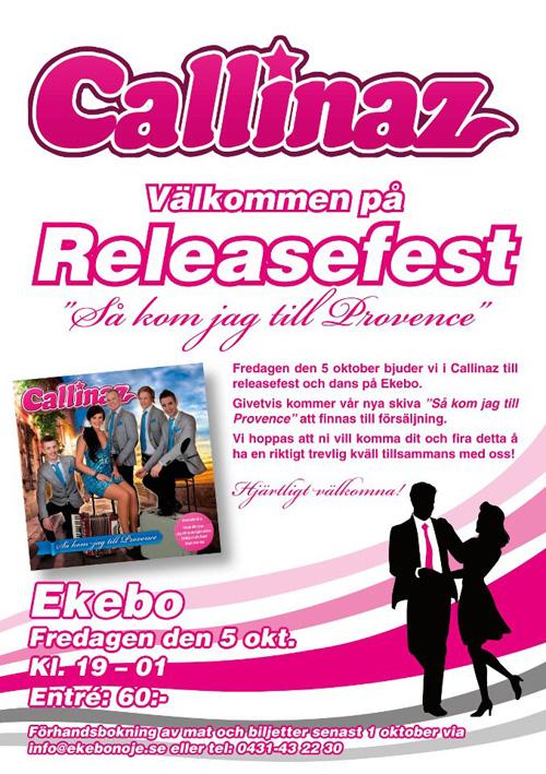 Releasefest med Callinaz
