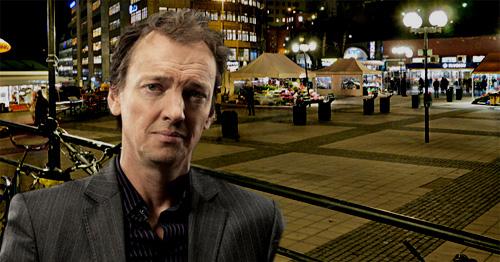 Lennart Ekdahl i Stockholm. Foto: TV4