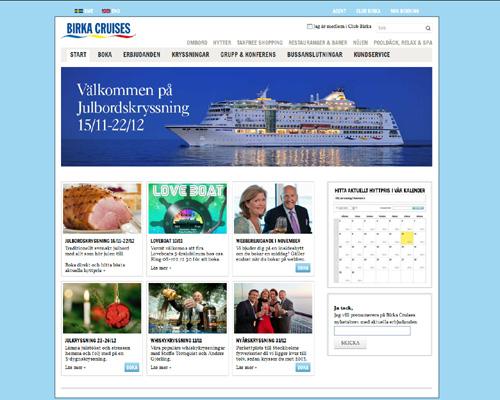 Birka Cruises nya hemsida[