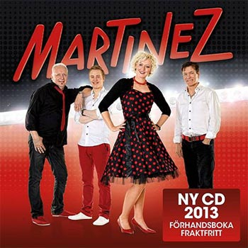 Martinez släpper ny cd under 2013