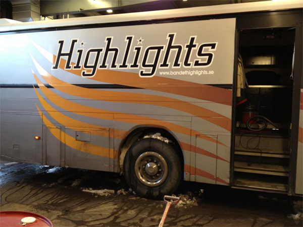 Highlights buss Foto: Highlights facebooksida