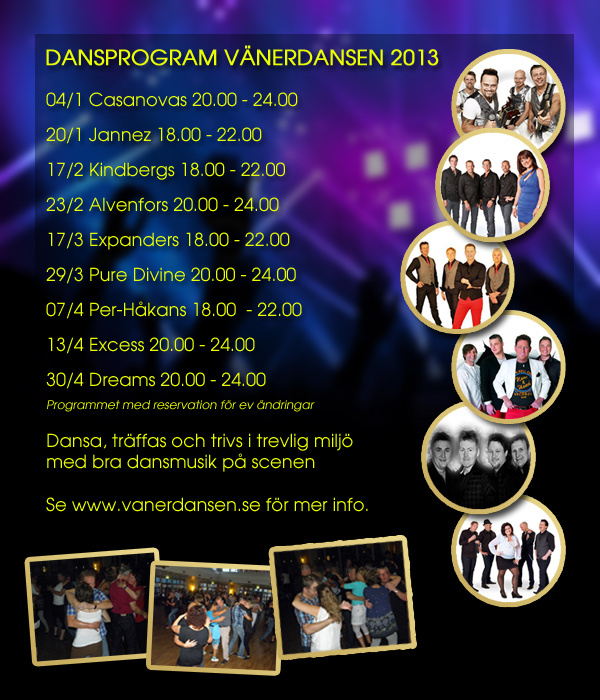 Vänerdansens program