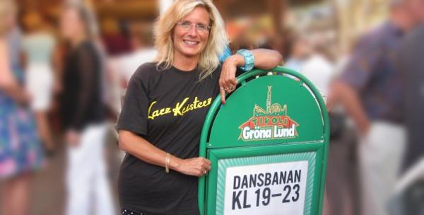Angela Keper på Dansloen. (Bilden är lånad från facebook)