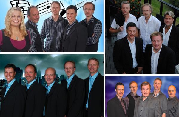 Diverse orkesterbidler på Holidays