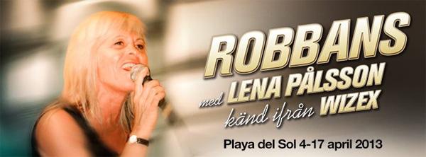 Robbans med Lena
