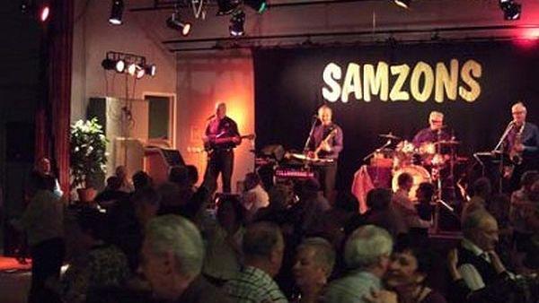 Samzons live.  Foto lånat från dansglad.se