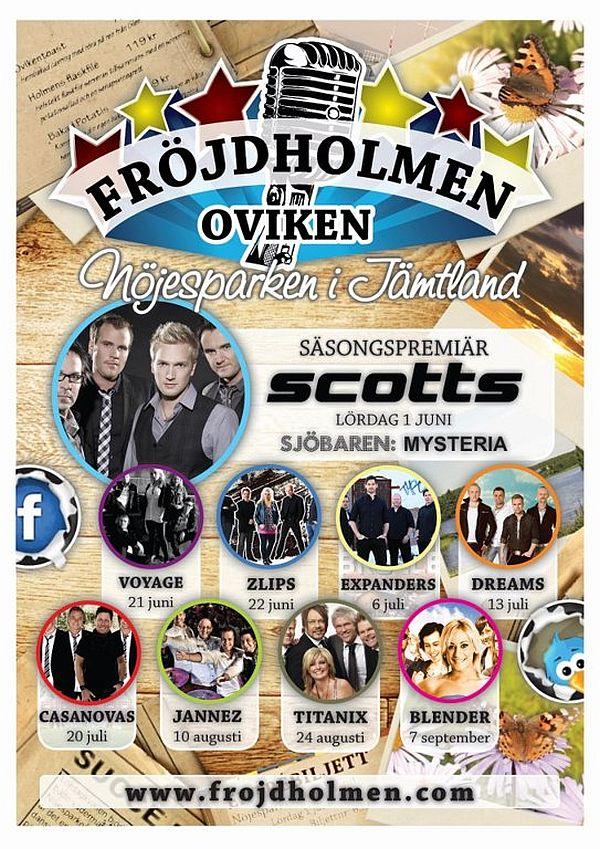 Sommarens danser på Fröjdholmen