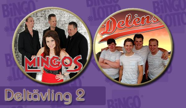 Bingolottos dansbandstävling Deltävling 2