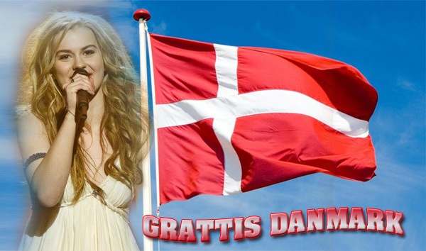 Grattis Danmark till er vinst i ESC 2013