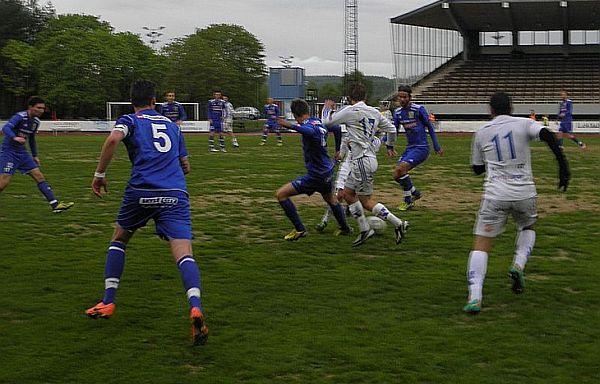 Match mellan KB Karlskoga och IFK Ölme