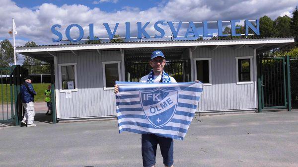 Jag utanför Solviksvallen i Arvika
