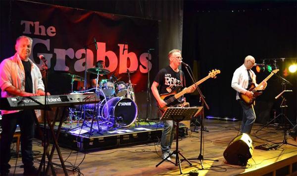 The Grabbs. Bild lånad från bandets facebooksida