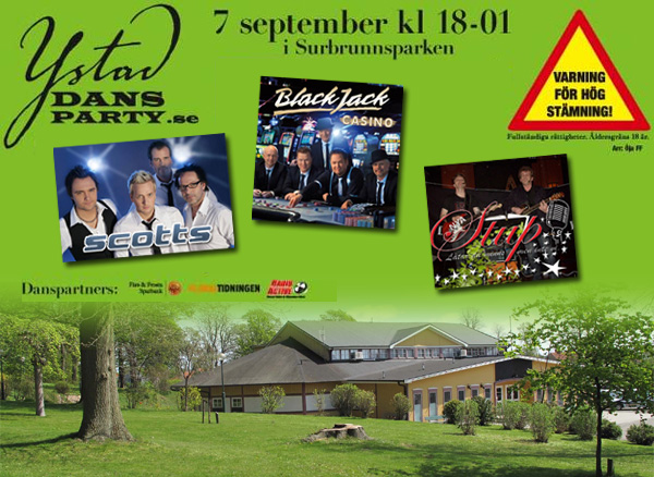 Ystad Dansparty 2013-09-07