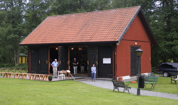 Danslogen vid hembygdsgården Kristinehamn