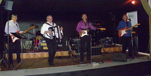 Tommy Bergs på scenen