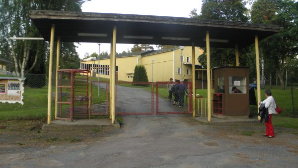 Entrén till Nykroppa Folkets Park