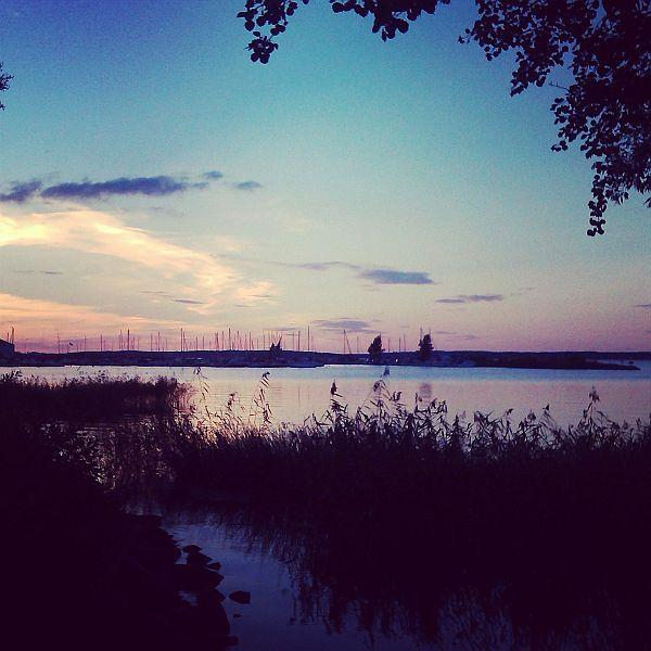 Utsikt från Karlsholme Folkets Park