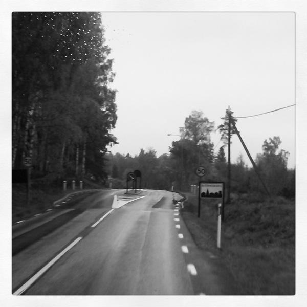 På väg mot Ödemarken