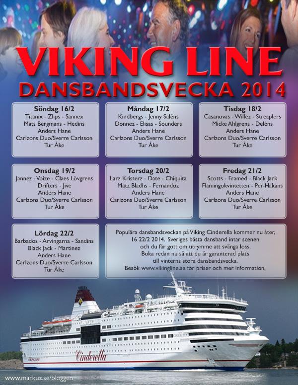 Cinderellas dansbandsvecka 2014