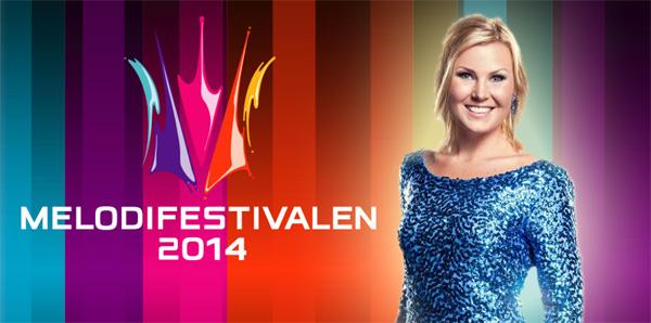 Elisa Lindström i Melodifestivalen 2014