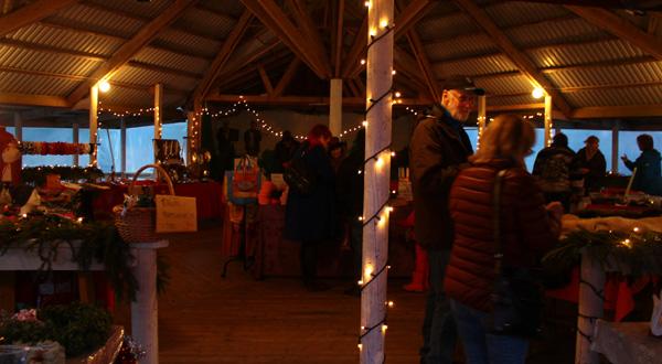 Julmarknad vid Kväggeshyttans bygdegård