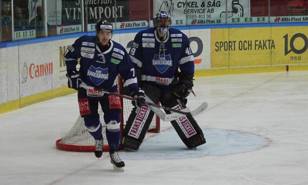 BIK Karlskoga spelade bra och gjorde en stark insats