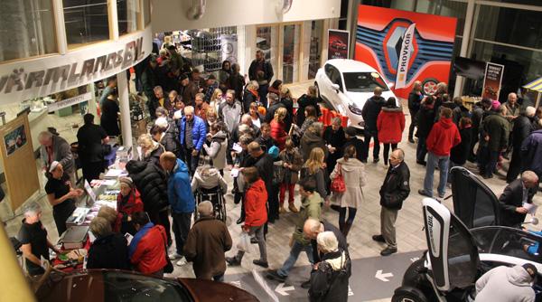 Matmarknad på Värmlands bil