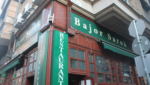 Bajor Sarok Restaurant