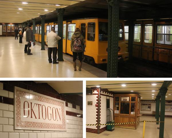 Tunnelbana i Budapest