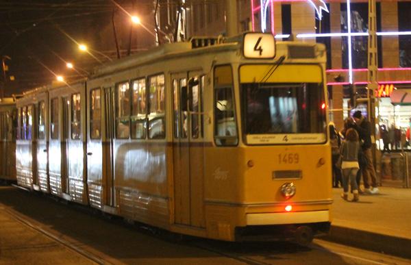 Spårvagnstrafik i Budapest