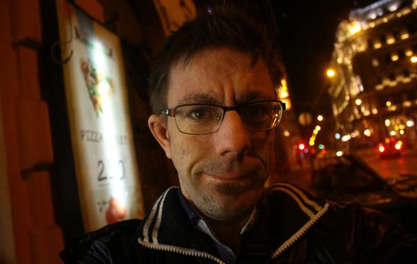 Jag i Budapest