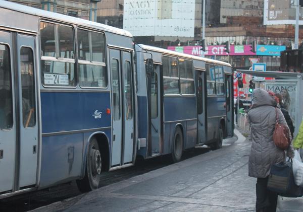 Bussar i Budapest