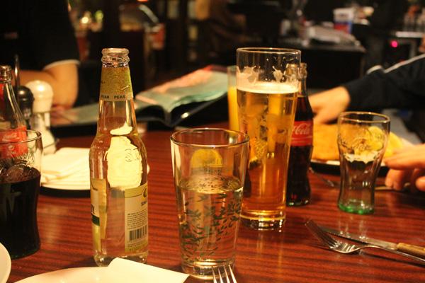 Lite dryck är aldrig fel