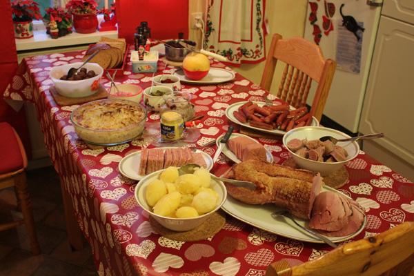 Julbordet