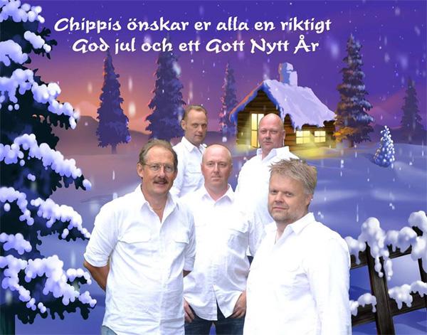 Julkort från Chippis