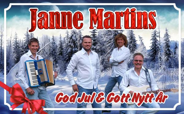 Janne Martins julkort